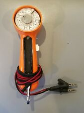 Bell System - Western Electric Lineman's Rotary Dial Phone Test Buttset - Orange