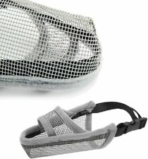 Crazy Felix Nylon Dog Muzzle for Large Dogs, Air Mesh Breathable - Size Xxs
