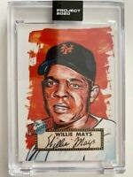 Topps Project 2020 Willie Mays Artist Blake Jamieson 143 PR 5930 New York Giants