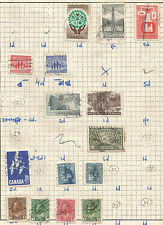 CANADA -  lot of 15 stamps