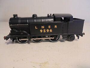 Hornby Dublo- EDL17-LNER-Black-9596-CODE 3-v.good/unboxd represents c1948 loco