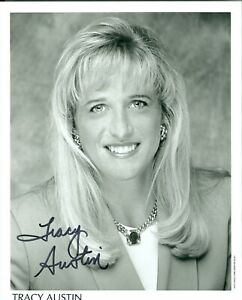 Tracy Austin autographed hand signed 8 x 10 photo Tennis Star
