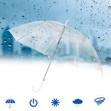 Durchsichtig automatik Regenschirm Partnerschirm groß stabil sturmsicher Neu