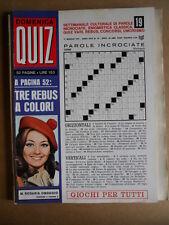 Domenica Quiz n°19 1974 - Maria Rosaria Omaggio  [D55]