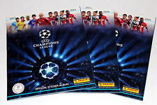 PANINI CHAMPIONS LEAGUE 2013/2014 13/14 - 3 X ALBUM VUOTO EMPTY ALBUM VUOTO
