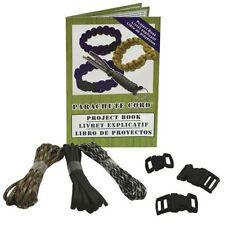 Parachute Cord Craft Kit (makes 2 Items per kit)