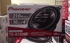 "Pioneer TS-G1030F 4"" 10cm 3 Way Coaxial Car Audio Speakers inc grilles 210w"