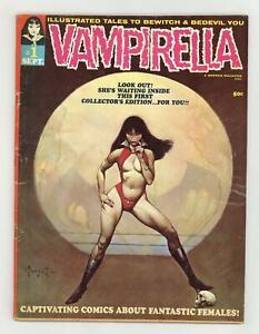 Vampirella #1 GD- 1.8 1969