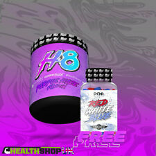 DNA SPORTS - H8 Preworkout + Free Red White Blue Extreme Pump Laser Focus
