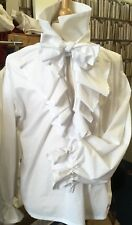 Georgian/ Regency Jabot Shirt Made To Order.