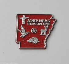 ARKANSAS THE NATURAL US STATE FLEXIBLE MAGNET 2 INCHES