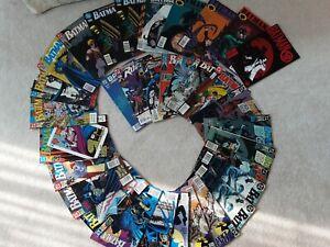 """Lot of 33 DC BATMAN Comics - """"Batman"""" - 1990's and 5 - 2000 all mint condition"""