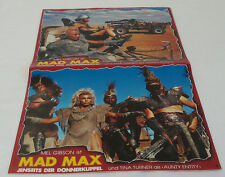 1985 MAD MAX BEYOND THUNDERDOME Poster/Lobby Cards ~ German