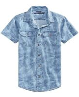 Tommy Hilfiger Toddler boy's Cotton Denim Shirt  - NWT - Fast Free Ship
