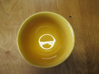 """Tabletops Unlimited CORSICA BUTTER YELLOW COUPE CEREAL BOWL 6""""   3 available"""