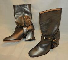 Coach Designer Luxus echt Leder Schuhe Stiefeletten 5 38 NEU