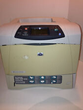 HP 4200N Workgroup Printer w/ Used Toner Page Count Under 26k