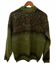 Vintage Squaw Valley ORIGINALS by Pebble Beach Fair Isle Sweater Wool Mohair L