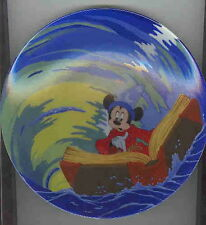 Disney  Mickey Sorcerer Whirpool  Lt.  Ed. Plate AFTER