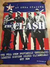 The Clash - Live At Shea Stadium Original Rare In Store Promo Poster