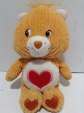 "Tenderheart Orange Bear Care Bear Carebear Heart 7"""