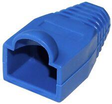 10x Manchons de protection pour RJ45 Fiche Prise Connecteur bleu réseau Ethernet