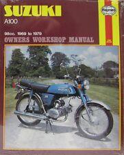 Haynes Manual 0434 - Suzuki A100 (69 - 79) workshop, service & repair