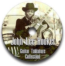 John Lee Hooker Blues Guitar Tab Tablature Song Book CD