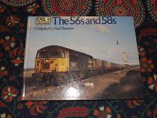 The  Class 56s & 58s Diesel Loco Rail Colour Portfolio No 11 Book Ian Allan