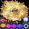 10M/20M 100/ 200LED Bulbs Christmas Wedding Fairy Party String Lights Waterproof