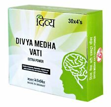UK Seller Divya Medha Vati Extra Power 120 Tablets Ayurvedic Herbal Safe