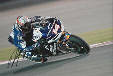 Randy De Puniet MotoGP Hand Signed Power Electronics Aspar ART Photo 12x8 2013 2