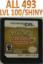 Pokemon Heart Gold Game Unlocked for DS lite DSi 2DS 3DS XL HeartGold All 493
