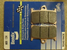 BENDIX BEN-134-MRR YZF1000 R1 2001 5JJ RACE RACING TRACK DAY COMPOUND FRONT PADS