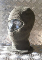 Army Green. One (1) Hole Balaclava / Beanie Hat - Very Warm - Brand New