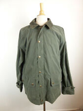 BARBOUR ENGLAND FIELD COAT OLIVE GREEN ZIP BEAUCHAMP PARKA JACKET XL SKYFALL