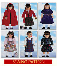 RETIRED SEWING PATTERN! MAKE AMERICAN GIRL DOLL CLOTHES! FITS SAMANTHA~MOLLY~KIT