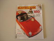 RUOTECLASSICHE 5/2008 FIAT 850 SPIDER/MORGAN PLUS 4/PEUGEOT 203/FORD MUTT M151