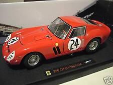 FERRARI  250 GTO 1963 # 24 LE MANS 1/18 ELITE HOT WHEELS N2070 voiture miniature
