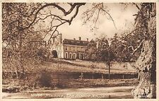 POSTCARD    KENT   WEST  MALLING   The  manor  House