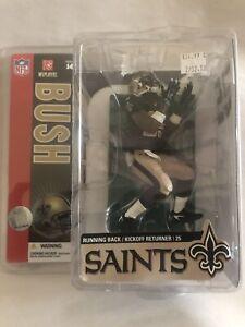 2006 McFarlane NFL Series 14 Reggie Bush #25 New Orleans Saints Action Figure