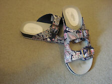 Rocket Dog navy blue multi printed sandal UK 4/37