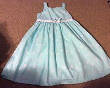 Gymboree Girls Gorgeous Teal Floral Dress size 10 Spring Fling Fun EUC