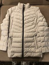 Womens 32 Degrees Heat Puffer Coat Jacket Dove Grey Sz Medium Worn 2x