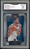 2015 Karl Anthony Towns Select Rookie Gem Mint 10 #16