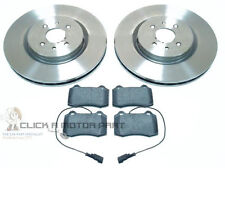 FIAT COUPE 2.0 20V TURBO 1995-2001  FRONT 2 BRAKE DISCS AND MINTEX PADS SET NEW