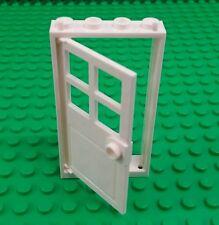 *NEW* Lego White 8x4x1 Door Frame with Door for Modular Buildings Houses x 1