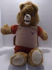 """Vnt. 1985 """"Teddy Ruxpin"""" The Teddy Bear"""