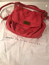Marc Jacobs classic Q Lil Ukita leather Handbag Coral