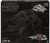 Star Wars The Black Series Snowspeeder Vehicle with Dak Ralter Figure 6-Inch-Sca